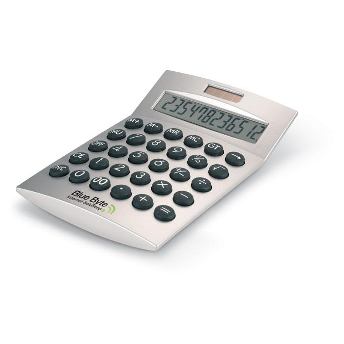Калькулятор, тускло-серебряный