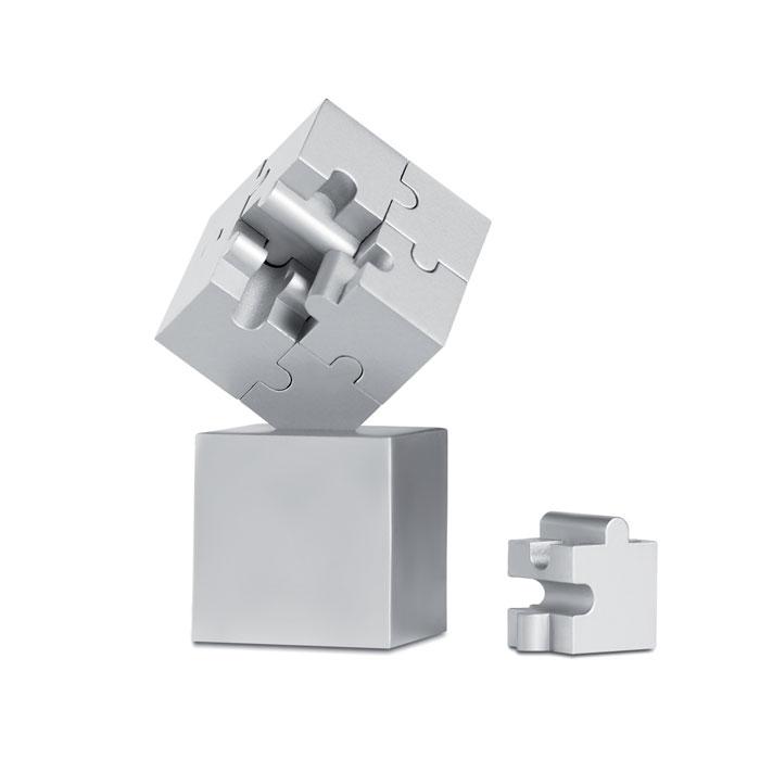 Паззл 3D, тускло-серебряный