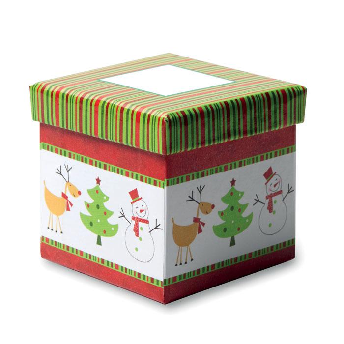 Ёлочная игрушка в коробке, многоцветный