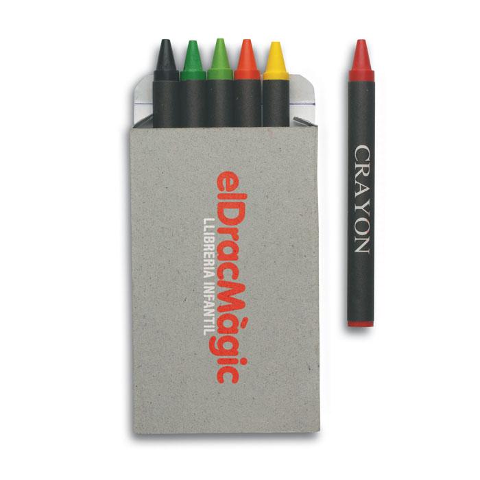 Набор восковых карандашей, многоцветный