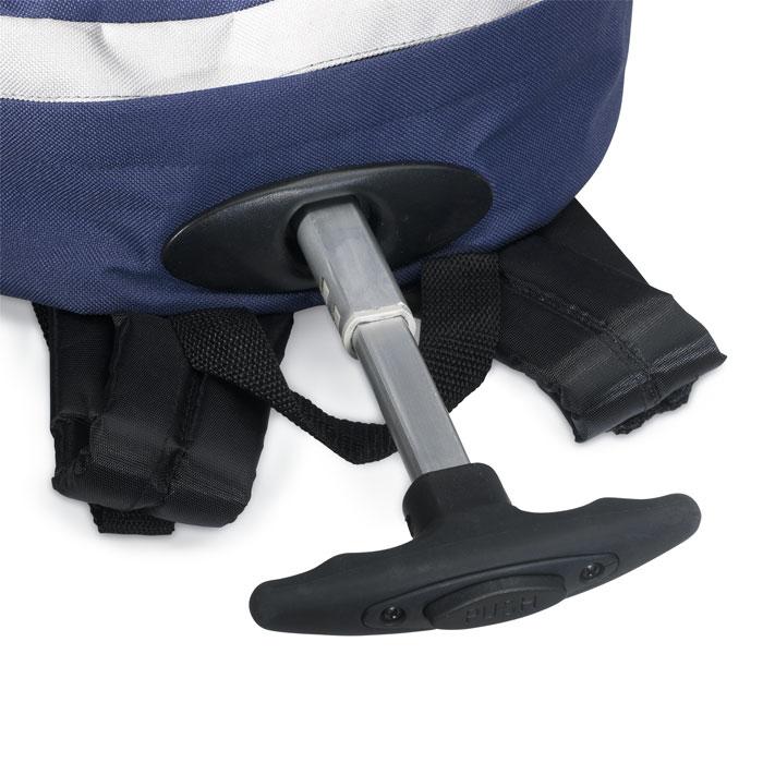 Рюкзак-тележка, синий
