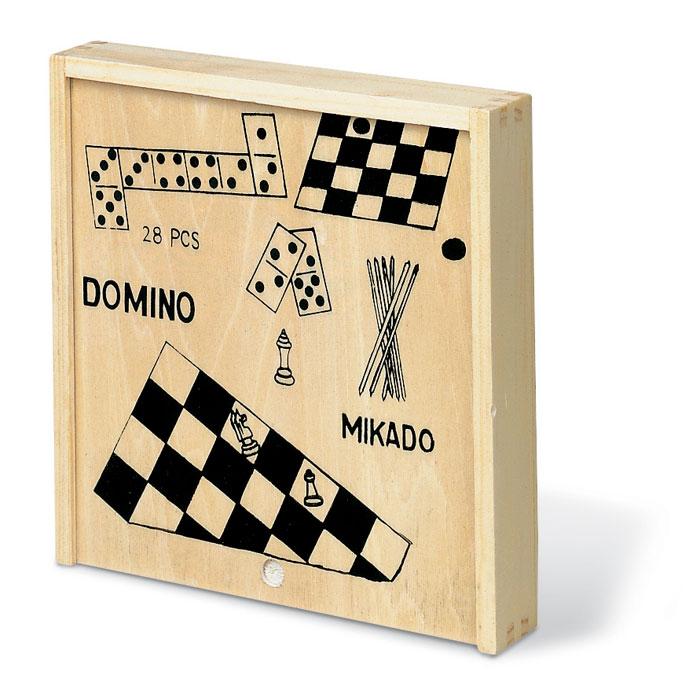 Набор игр, древесный