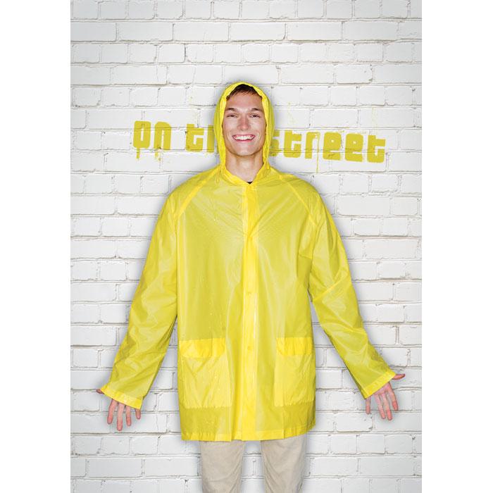 Дождевик, желтый