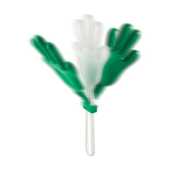 Трещотка (в виде руки), зеленый-зеленый