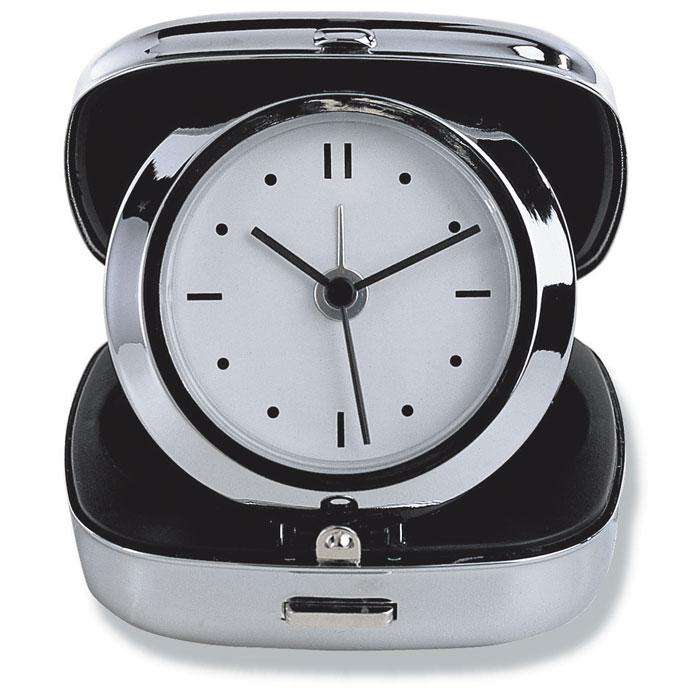 Часы дорожные, серебряный