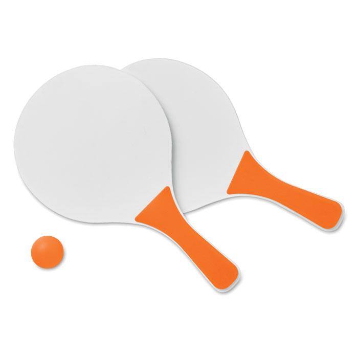 Теннис пляжный, оранжевый