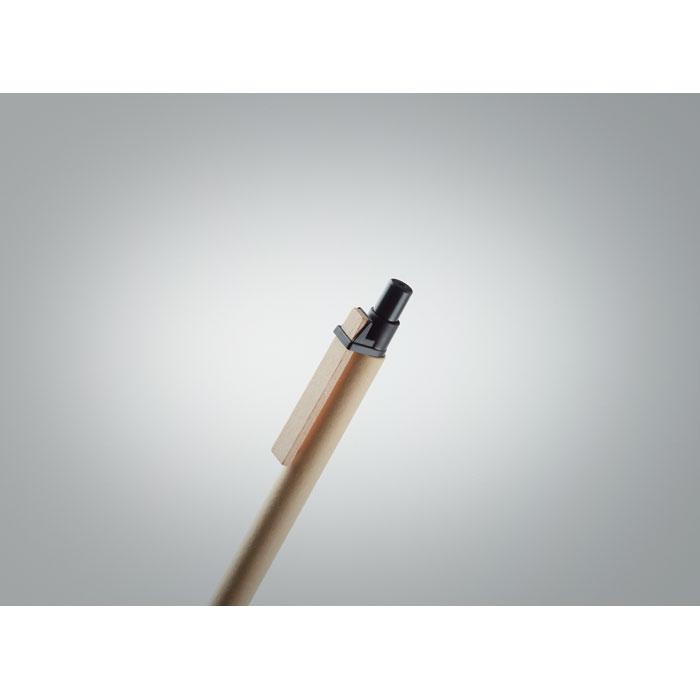 Ручка картонная, черный