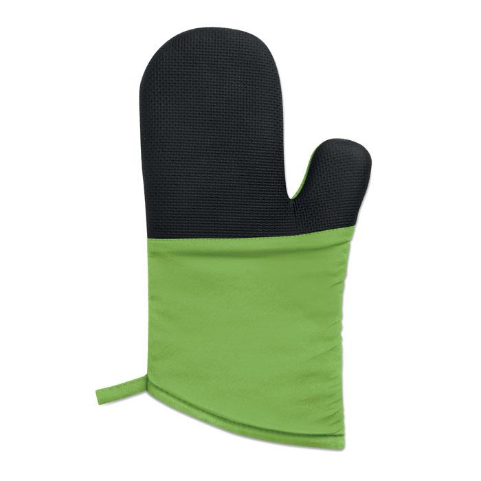 Кухонная рукавица, зеленый-зеленый