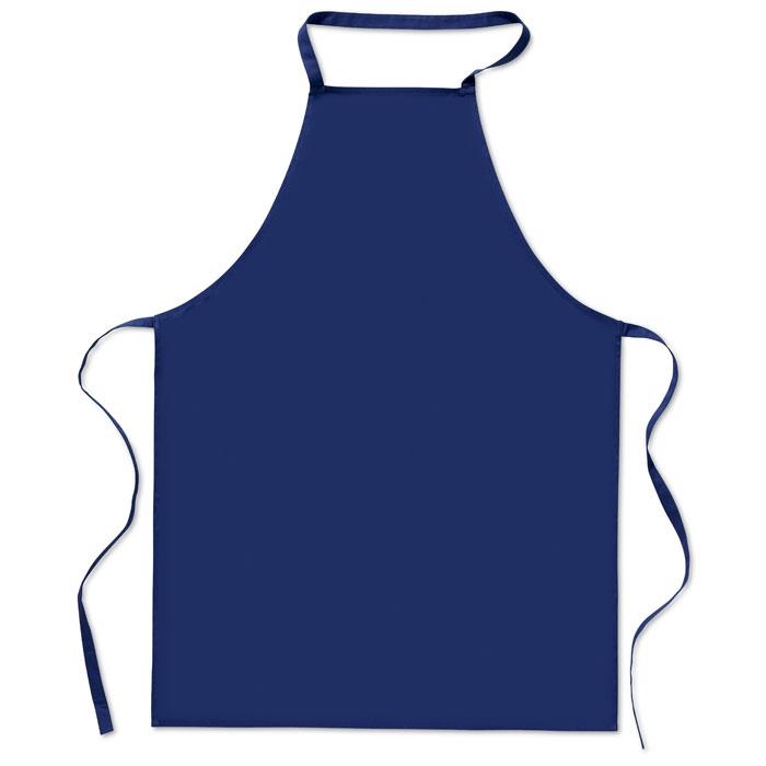 Кухонный фартук из хлопка, синий