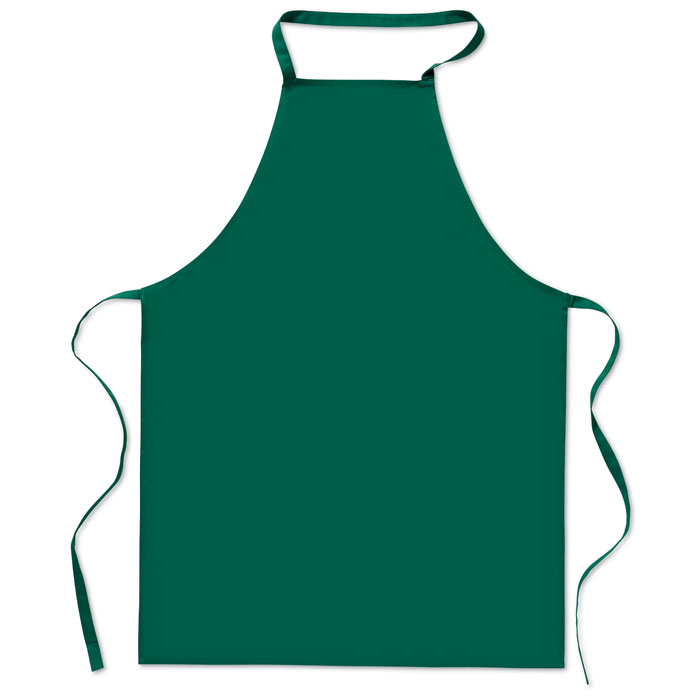 Кухонный фартук из хлопка, зеленый-зеленый
