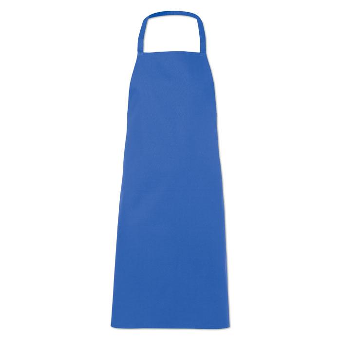 Кухонный фартук из хлопка, королевский синий