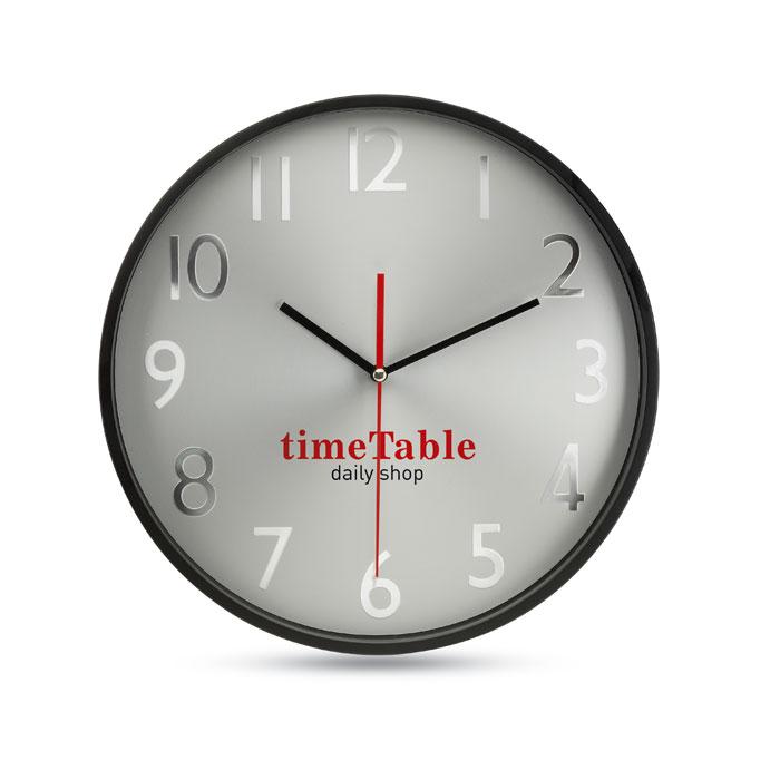 Часы настенные, черный