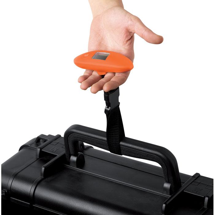 Весы для багажа, оранжевый