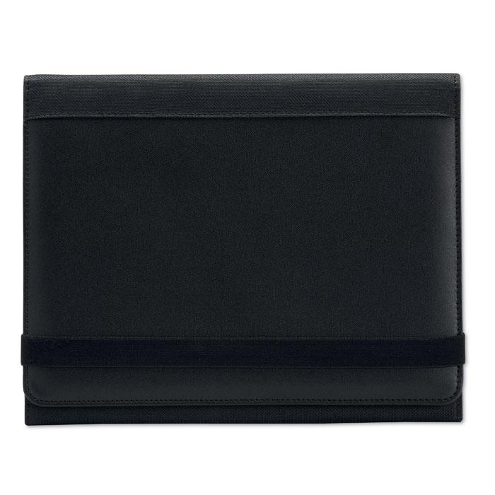 Чехол для планшета с блокнотом, черный