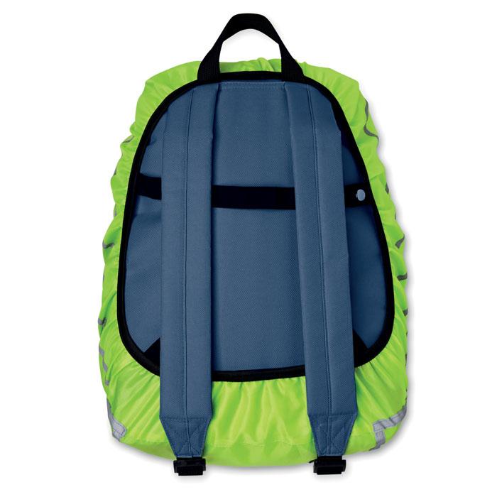 Чехол на рюкзак, неоновый зеленый цвет