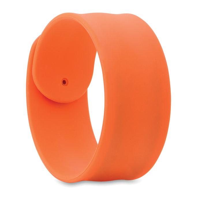 Браслет, оранжевый