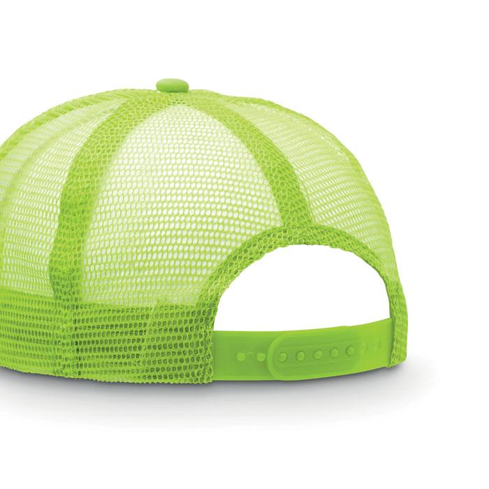 Бейсболка, неоновый зеленый цвет