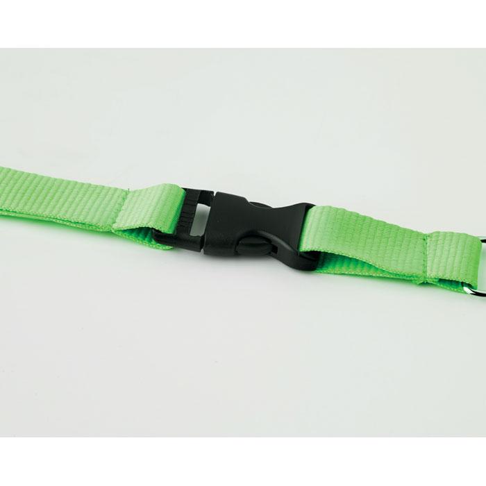 Ланьярд, неоновый зеленый цвет