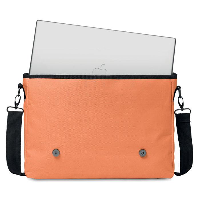 Сумка для ноутбука, оранжевый