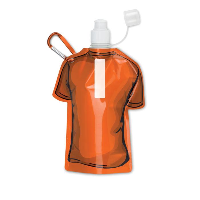 Бутылка складная, оранжевый