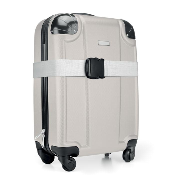Лямка багажная, белый
