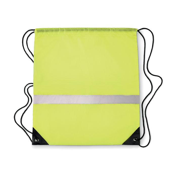 Рюкзак светоотражающий, неоновый желтый цвет