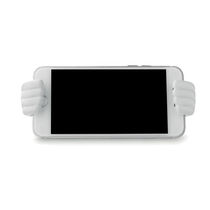 Подставка для телефона, белый