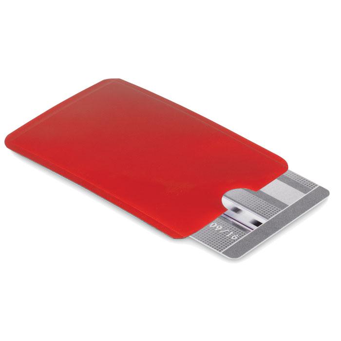 Чехол для кредитной карты, красный