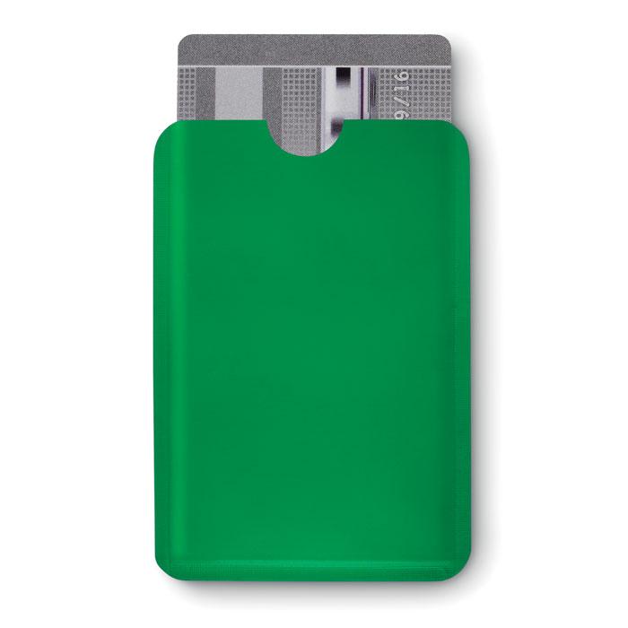 Чехол для кредитной карты, зеленый-зеленый