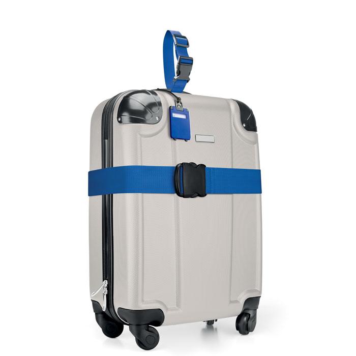 Ремень багажный, королевский синий
