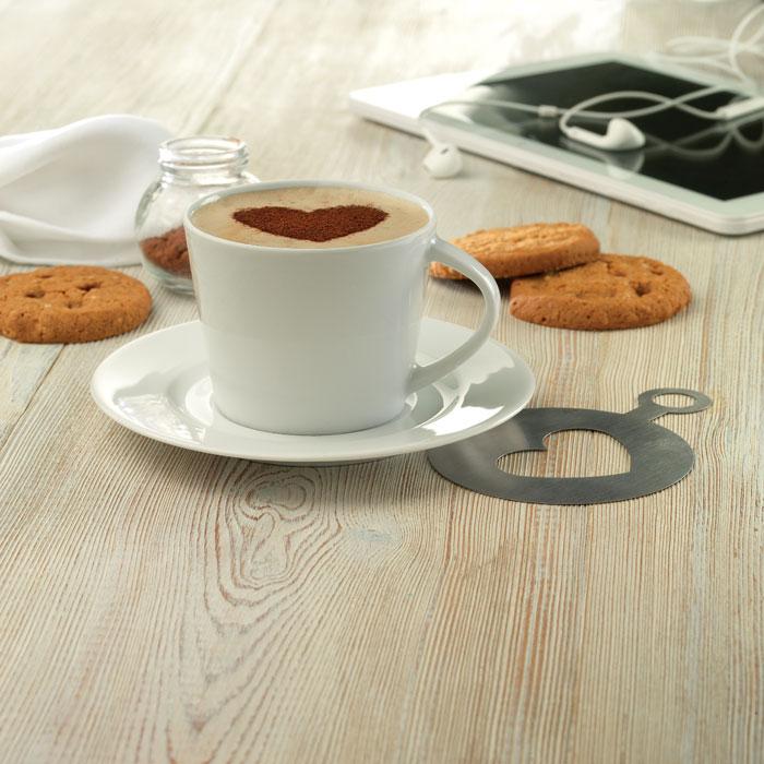Капучино чашка и блюдце