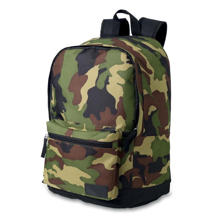 Рюкзак из полиэстера, зеленый-зеленый
