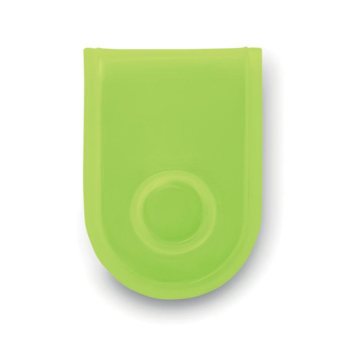 Светодиод безопасности с магнит, неоновый желтый цвет