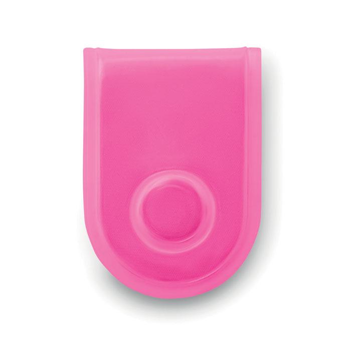 Светодиод безопасности с магнит, неоновый розовый цвет