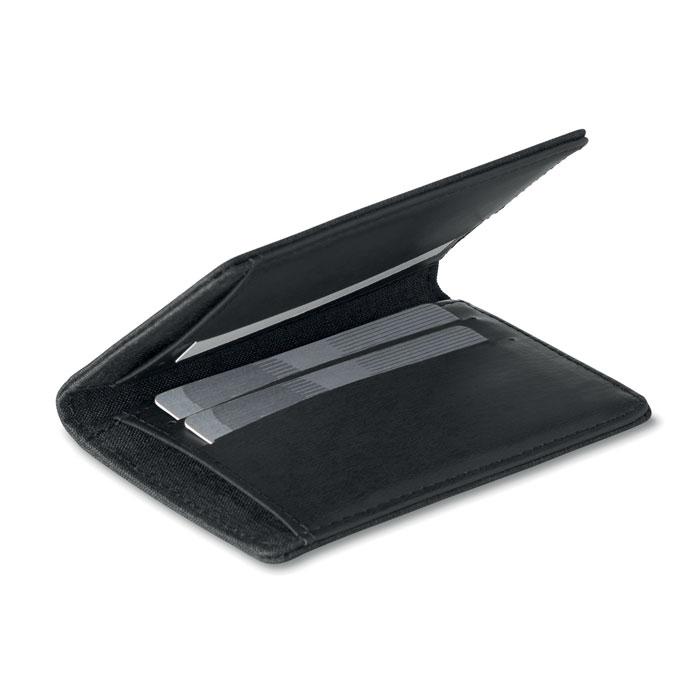 Чехол для кредитной карты, черный