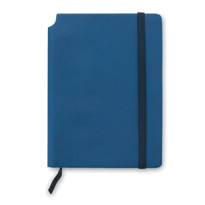 Блокнот линованный, синий