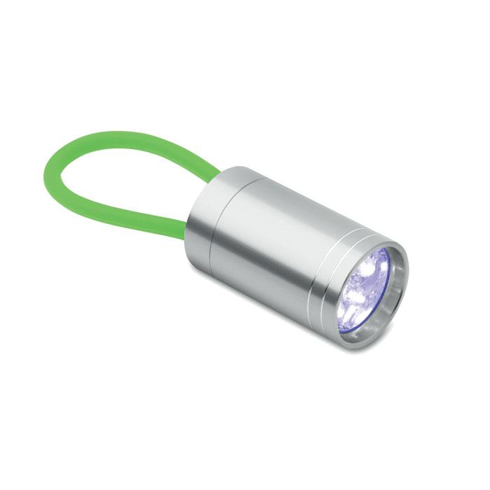Aluminium torch glow in dark, зеленый-зеленый