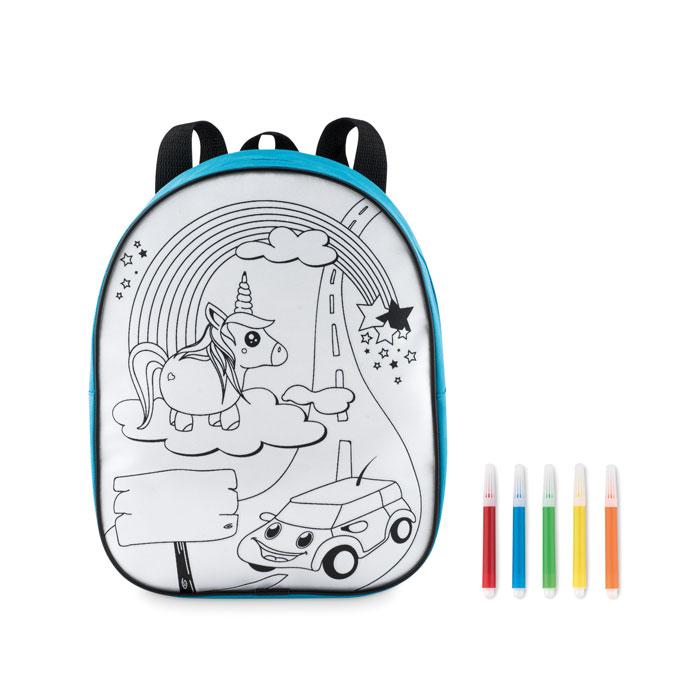 Рюкзак с маркерами