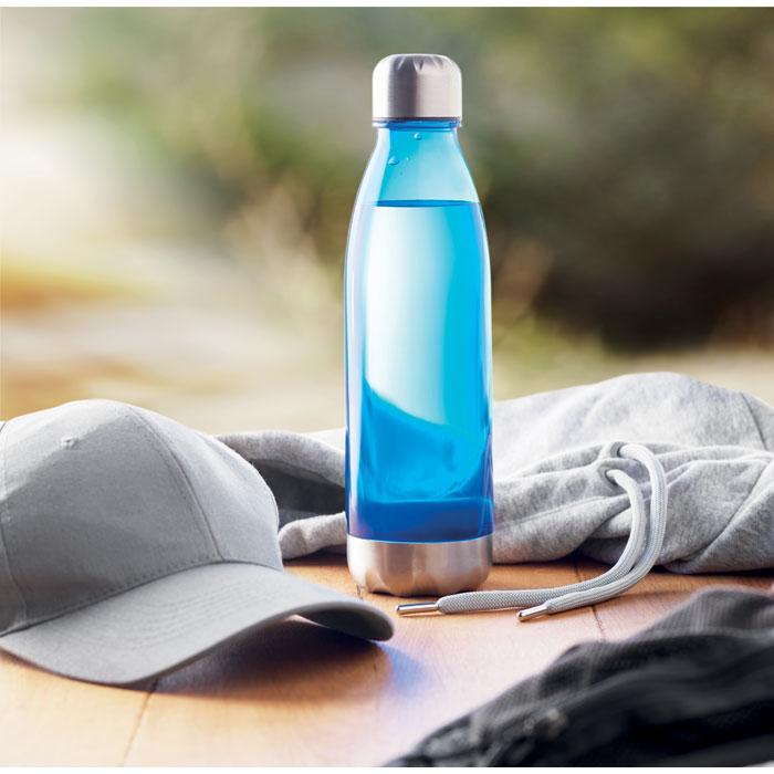 Бутылка для питья, прозрачно-голубой