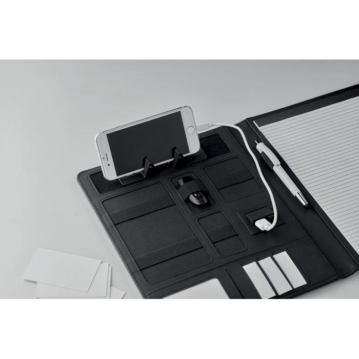 Папка с аккумулятором, черный