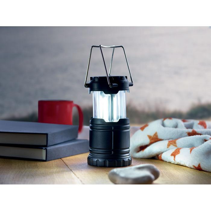 Лампа для походов, черный