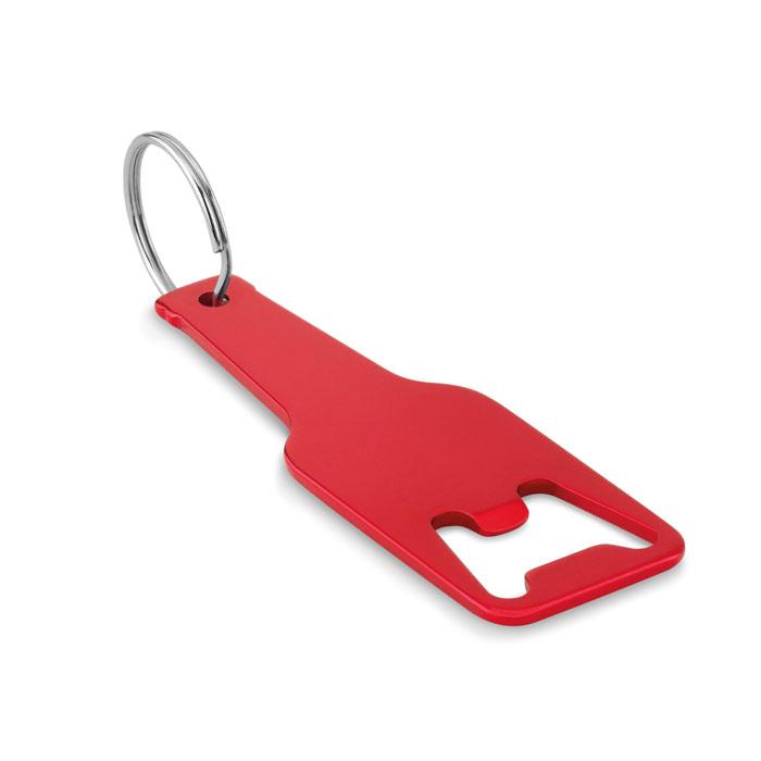 Открывалка-брелок, красный