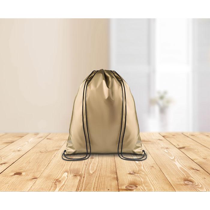 Сумка-мешок, золотой