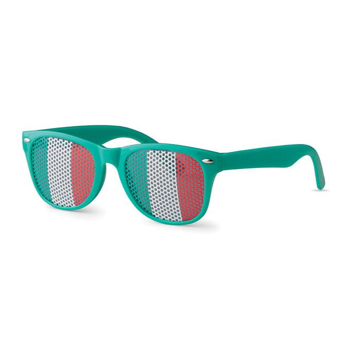 Очки солнцезащитные, зеленый-зеленый