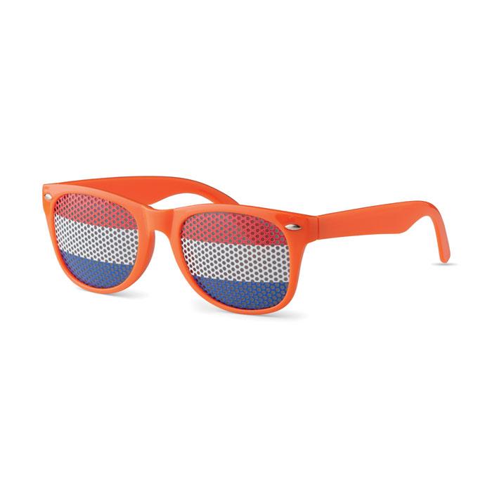 Очки солнцезащитные, оранжевый