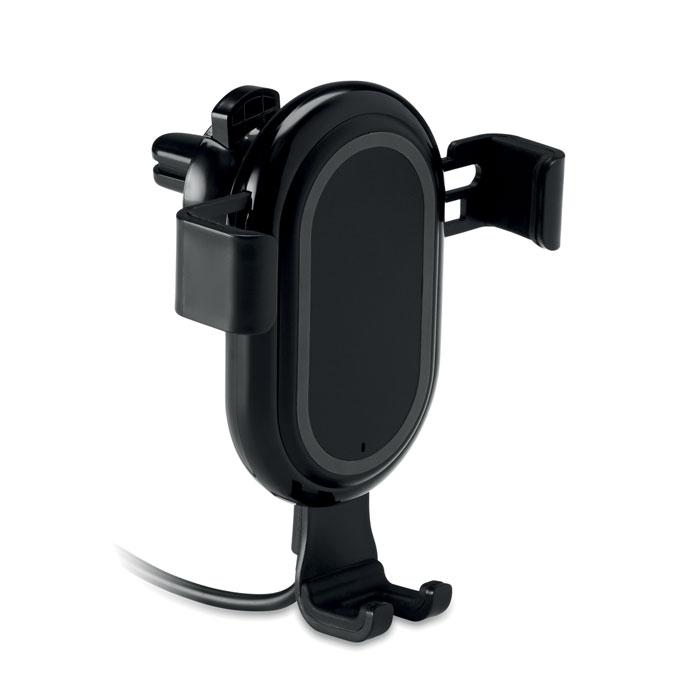 Холдер телефона зарядка б/п, черный