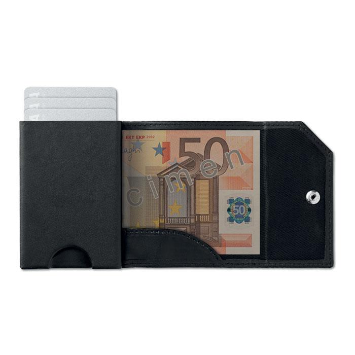 Бумажник/кард холдер и RFID, черный