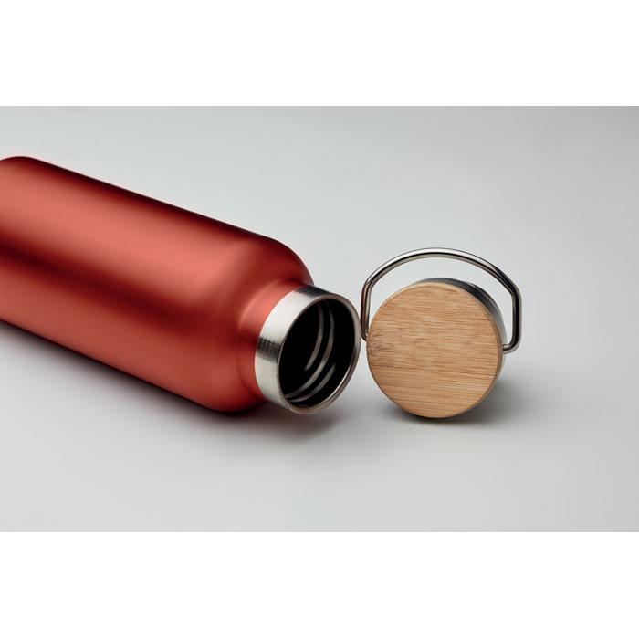 Термос двустенчатый 500мл, красный