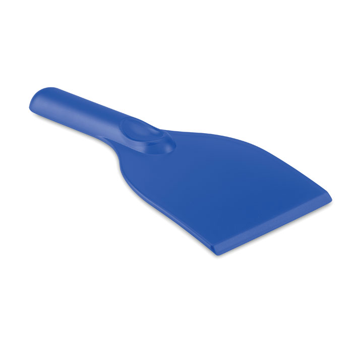 Скребок, прозрачно-голубой