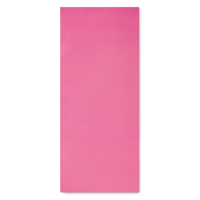 Коврик для йоги 4мм в чехле, розовый